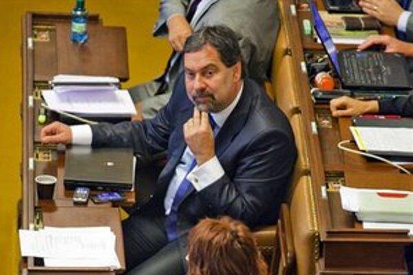 Predseda strany Radek John.