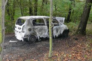 Zhorený Volkswagen.