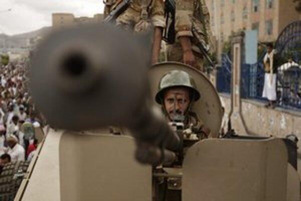 Jemenský vojak.