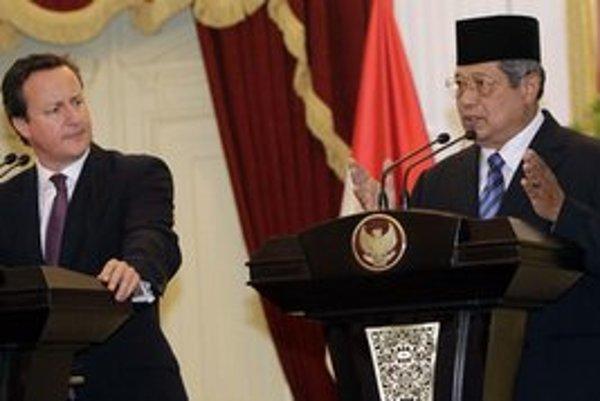 Britský premiér sa stretol s indonézskym prezidentom.