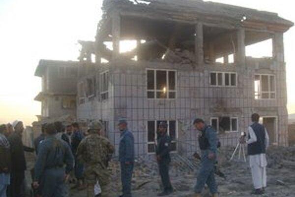 Pri útoku Talibanu na Kábul zomreli štyria civilisti.