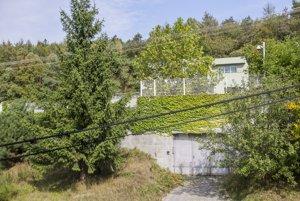 Piťova vila v Lamači.