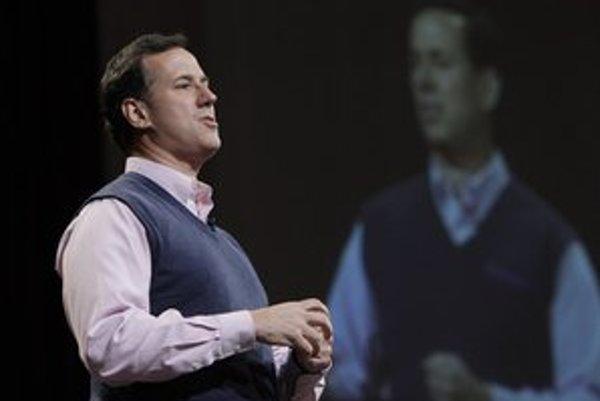 Rick Santorum v posledných celonárodných prieskumoch predbehol aj Mitta Romneyho.