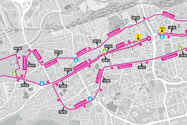 Už dobre známy mestský okruh v Košiciach čaká na bežcov Trať Medzinárodného maratónu mieru povedie aj tento rok poväčšine srdcom mesta.
