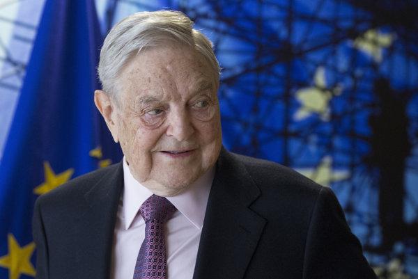 Americký miliardár a filantrop George Soros.