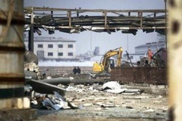 K explózii došlo v chemickej továrni.