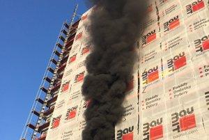 Tesne po vzniku požiaru.