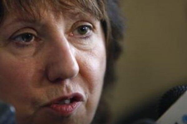 Šéfka diplomacie EÚ Catherine Ashtonová.