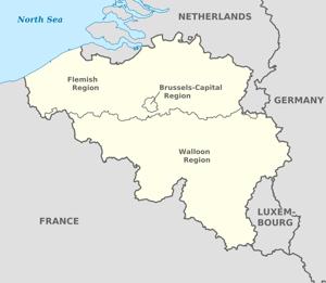 Flámsko a Valónsko.