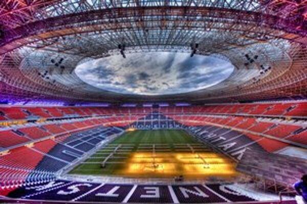 Majstrovstvá Európy sa budú hrať aj na doneckom futbalovom štadióne.