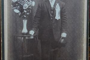 Štefan Masaryk v ateliéri v Chicagu