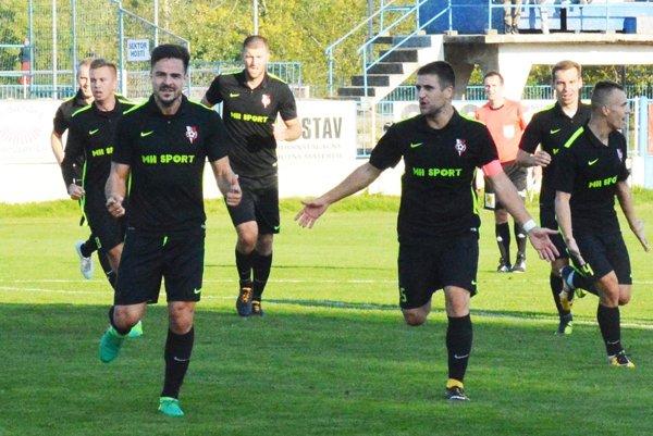 Marko Milunovič (vľavo) strelil víťazný gól Serede.
