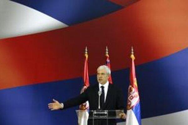 Srbský prezident Boris Tadič.