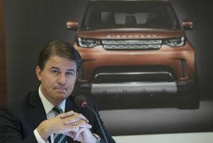 Riaditeľ Jaguar Land Rover Slovakia Alexander Wortberg.