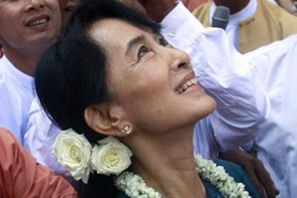 Aung Schan Su Ťij.