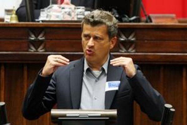 Janusz Palikot v parlamente.
