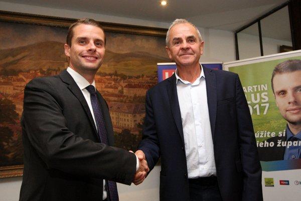 Martin Klus dnes oznámil, že sa vzdáva kandidatúry v prospech Jána Luntera.