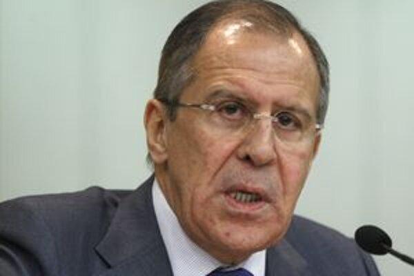 Ruský minister zahraničných vecí Sergej Lavrov.