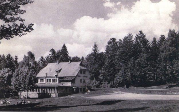 Chata na Otílii na neskoršej fotografii po roku 1946.