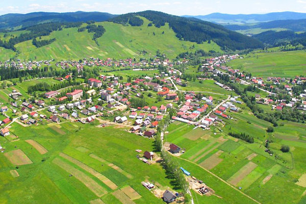 Zákamenné je oravská dedina snajväčším počtom obyvateľov.