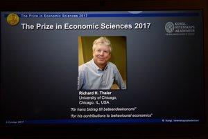 Tohtoročný laureát za ekonómiu Richard H. Thaler.