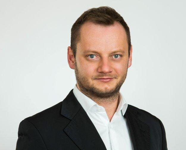 Špecialista pre marketing Andrej Barančok.