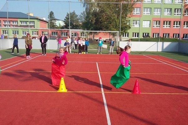 Európsky týždeň športu na ZŠ Školská 2, Holíč
