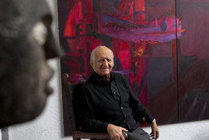 Fernando de Szyszlo na archívnej snímke z roku 2011.
