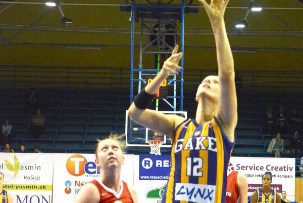 Pripísala si 21 bodov, ale nestačilo to. Košice ťahala vTurecku Anna Jurčenková.
