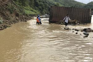 Záplavy vo Vietname.