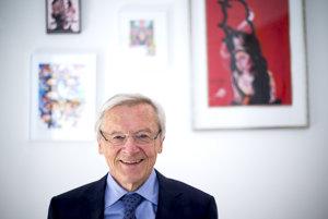 Bývalý rakúsky kancelár Wolfgang Schüssel.