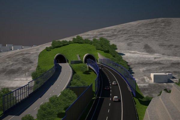 Horelický tunel bude v budúcnosti o dva pruhy širší. Súťaž na zhotoviteľa stavby chce NDS vyhlásiť  v roku 2020.