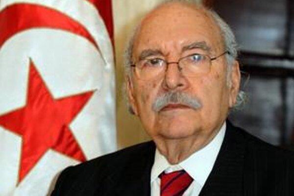 Dočasný prezident Fuád al-Mibaza.