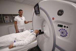 Nové CT pracovisko.