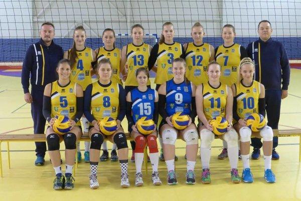 Volejbalistky VA UNIZA Žilina po zápase s R. Sobotou.