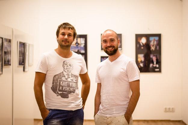 Režisér Miro Remo (vľavo) a producent Marek Kučera.