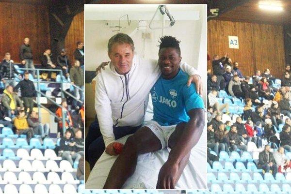 Macdonald Niba sa už v nedeľu v nemocnici pri návšteve Ivana Galáda usmieval.