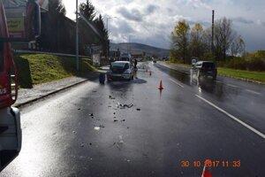 K nehode došlo na Priemyselnej ulici.