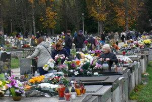 Sklabinský cintorín v Martine V.