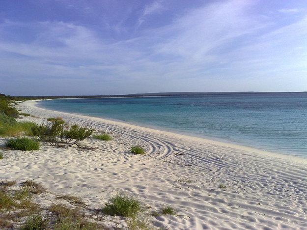 Takmer nedotknutá pláž Bahía de Las Aguilas