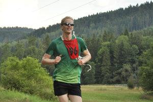 Vladimír Majerčák. Zregionálnych pretekárov bol najrýchlejší.