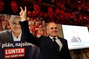 Ján Lunter verí vo víťazstvo.