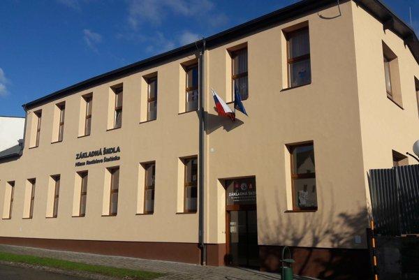 Základná škola M. R. Štefánika v Spišskej Belej zmenila vzhľad.