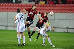 Jediný gól domácich strelil Ján Vlasko hlavou.