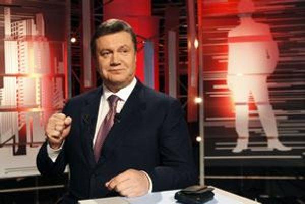 Nový ukrajinský prezident Viktor Janukovyč.