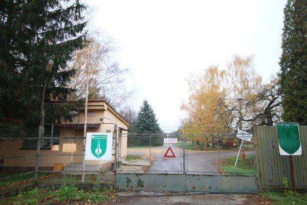 Bývalá základňa logistickej podpory radiačnej chemickej abiologickej ochrany.