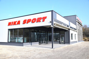 Nové priestory športovej predajne NIKASPORT sú už takmer vo finálnej podobe.