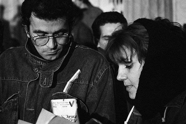 Peter Rašev a Ľuba Blaškovičová. V novembri 1989 patrili k lídrom košického VPN.