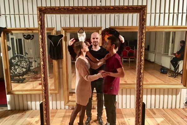 Romeo, Julia a Igor Timko. Košičan bol z výsledného diela nadšený.