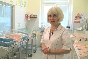 Katarína Maťašová, zástupkyňa prednostu martinskej neonatológie.